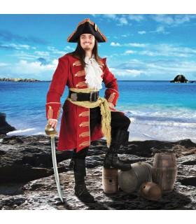 Abrigo del Capitán Morgan en terciopelo