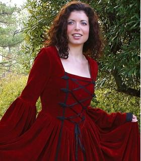 Vestido Renacentista Scarlett