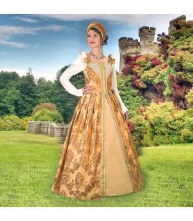 Vestido del Renacimiento Anjou