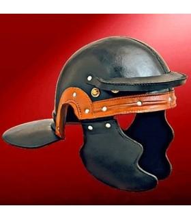 Casco en cuero de Soldado Romano