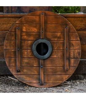 Escudo Vikingo Vegvisir Iarla en látex, 80 cms.