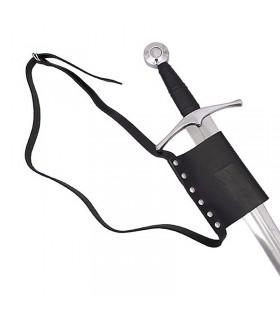 Cinturón sencillo con tahalí para espada
