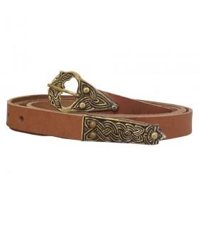 Cinturón cuero Edad Media