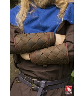 Brazaletes Vikingos de cuero