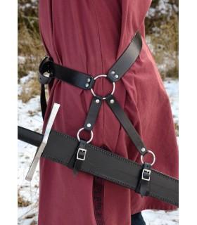 Cinturón largo para espada medieval (160 cms.)