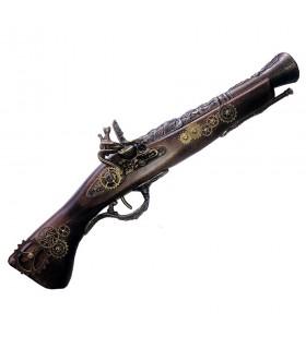 Pistola trabuco de pedernal, SteamPunk III