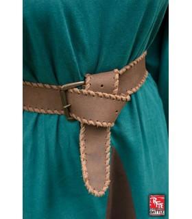 Cinturón medieval cuero, 100 cm.