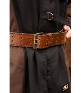 Cinturón medieval con anilla, 120 cm.