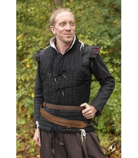 Cinturón medieval trenzado con tahalí
