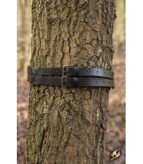 Cinturón medieval doble, 120 cm.