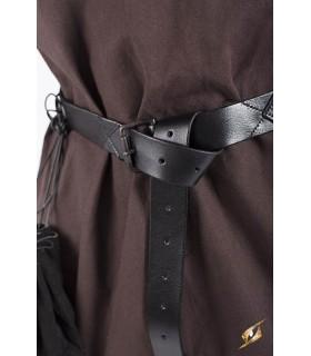 Cinturón medieval largo, 160 cm.