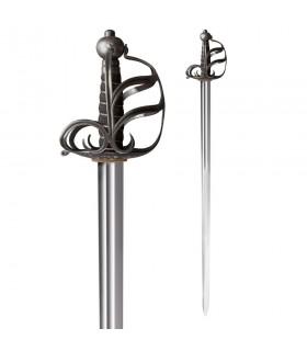 Espada Mortuoria Inglesa Funcional, siglo XVII