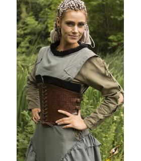 Corsé medieval cuero, Margot