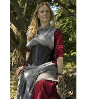 Corsé medieval cuero, Elfa de la Noche
