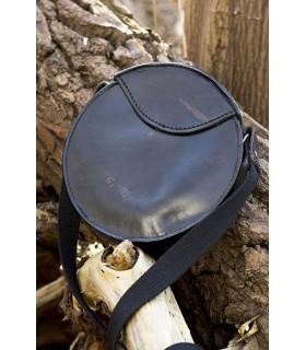 Bolso medieval redondo con correa