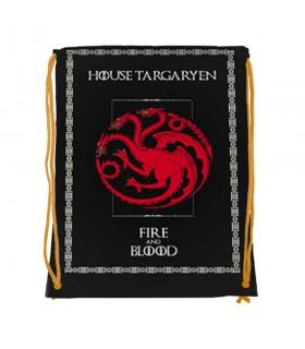Mochila de cuerdas Targaryen de Juego de Tronos (34x42 cms.)
