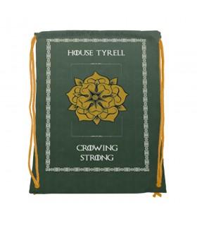 Mochila de cuerdas House Tyrell de Juego de Tronos (34x42 cms.)