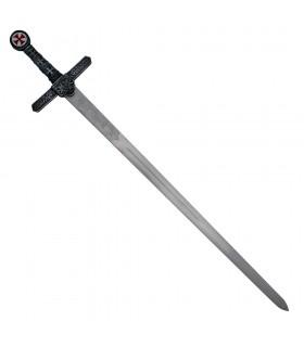 Espada Templaria, hoja rústica