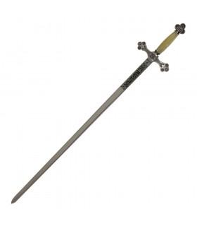 Espada Logia Masónica nácar