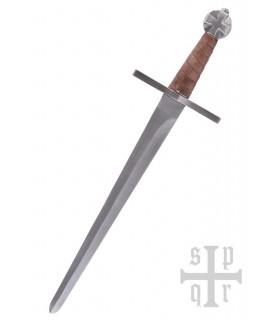 Daga Templaria de combate, con vaina