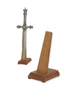 Expositor de espadas (tamaño cadete) en vertical