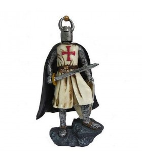Miniatura caballero Templario con espada