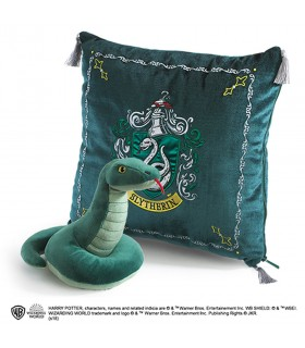 Cojín y peluche casa Slytherin, Harry Potter