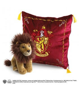 Cojín y peluche casa Gryffindor, Harry Potter