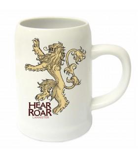 Jarra cerámica casa Lannister de Juego de Tronos
