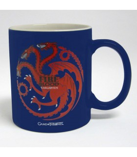 Jarra Cerámica casa Targaryen de Juego de Tronos, 2 colores