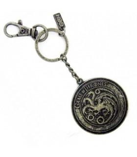 Llavero metal casa Targaryen de Juego de Tronos