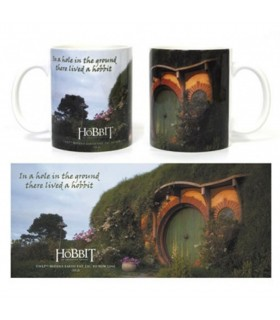 Taza de cerámica El Hobbit Hobbitton
