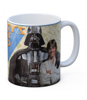 Taza de cerámica Galaxy Best Dad de Star Wars