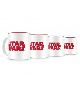Set 4 Mini-Tazas Cafe de Star Wars Episodio VIII