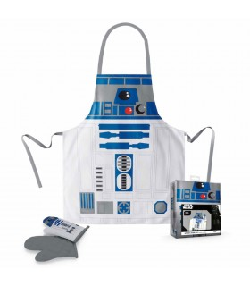 Delantal y manopla R2-D2 de Star Wars