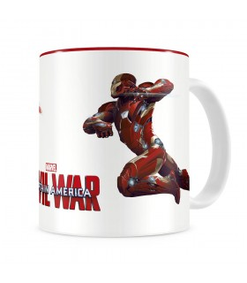 Taza Duelo Iron Man, Marvel Civil War