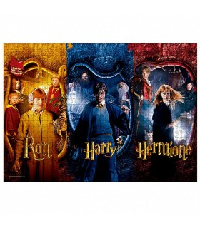 Puzzle de 1000 piezas de Ron, Harry y Hermione de Harry Potter