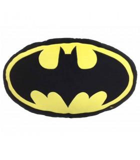 Cojín ovalado logo Batman, DC Comics