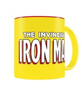 Taza logo Ironman, Marvel Comics