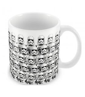 Taza cerámica Estampado Stormtroopers Ep. 7, Star Wars