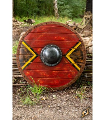 Escudo LARP Vikingo Thegn, látex