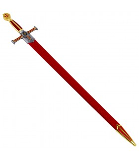 Espada Templaria cadete, puño terciopelo