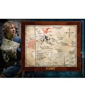 Cuadro Mapa de Thorin Escudo de Roble, Hobbit