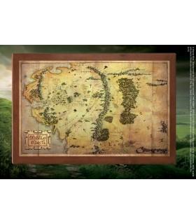 Cuadro Mapa de la Tierra Media, El Hobbit