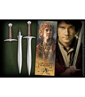 Bolígrafo y Marca páginas espada Dardo, El Hobbit