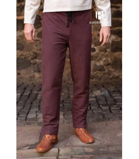 Pantalones medievales Gunnar, marrón