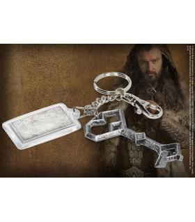 Llavero con la llave de Thorin Escudo de Roble, Hobbit