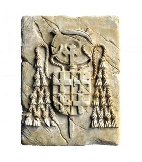 Huella Histórica Sello Cardenalicio, 20 x 15 cm.
