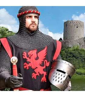 Yelmo Caballero Medieval de transición