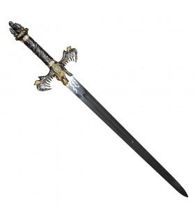 Espada de los Bárbaros, acabado oro
